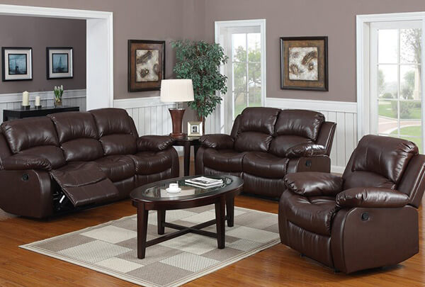 Top 6 Leather Living Room Sets To, Faux Leather Living Room Set